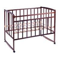 Детская кроватка, цвет тёмный орех