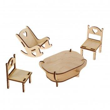 Набор для творчества (стол, 2стула, кресло-качалка)