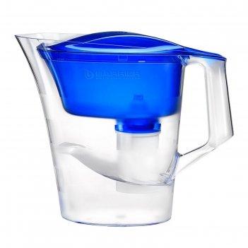 Фильтр-кувшин 4 л барьер-твист, цвет синий