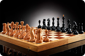 Шахматы ретро 70-х (45х45см)