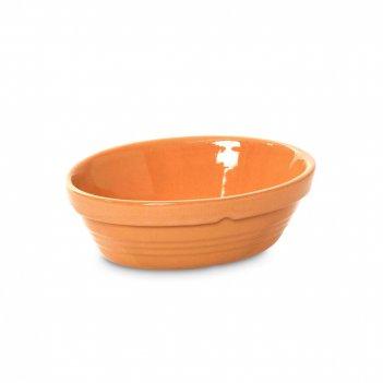 Блюдо для запекания овальное, размер: 14,5 х 10 х 5 см, материал: керамика