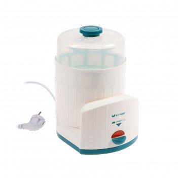 Стерилизатор kitfort кт-2303, 330-390 вт, автоматическое отключение, белый