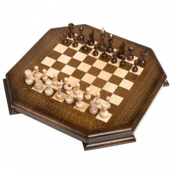 Шахматы резные восьмиугольник 30, harutyunyan