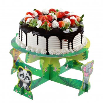 Подставка под торт лучшие друзья, зверята