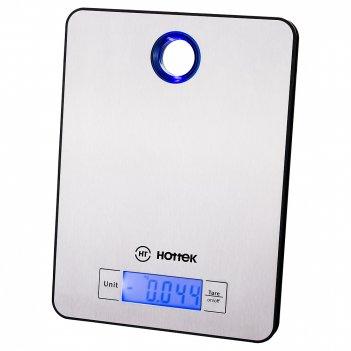 Весы кухонные hottek ht-962-040 сталь, макс.вес 5кг (кор=12шт.)