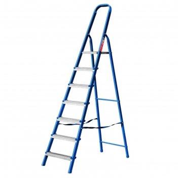 Лестница-стремянка mirax 38800-07, стальная, 141 см, 7 ступеней