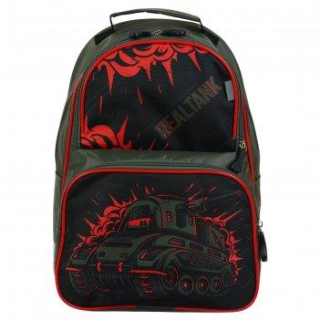 Рюкзак школьный с эргономичной спинкой luris тимошка орт 37 х 26 х 13, для