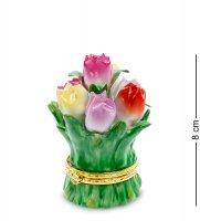 Cms-33/24 шкатулка цветы (pavone)