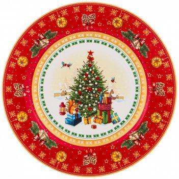 Тарелка десертная christmas collection 21 см.