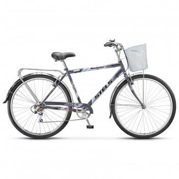 Велосипед 28 stels navigator-350 gent, z010, цвет серый, размер 20