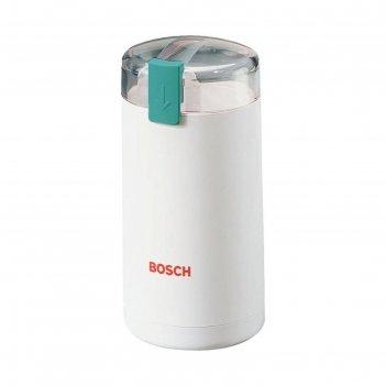 Кофемолка bosch mkm 6000, 180вт ротационный нож белая
