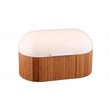 Хлебница деревянная с металлической крышкой 34*20*19 см (кор=4шт.)