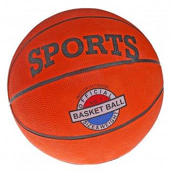 Мяч баскетбольный, pvc, размер 7, pvc, бутиловая камера, 530 г