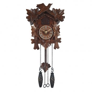 Настенные часы с кукушкой columbus галка cq-038c