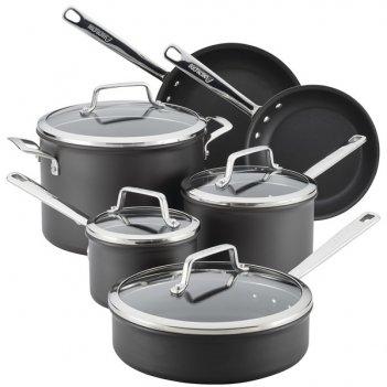 Набор кухонной посуды anolon асорити, 10 предметов