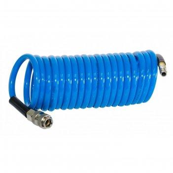 Шланг спиральный fubag 170302, фитинги рапид, полиуретан, 15бар, 6x10мм, 1