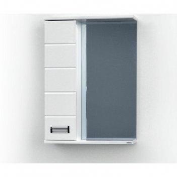 Шкаф-зеркало ника (с подсветкой ) левый 70