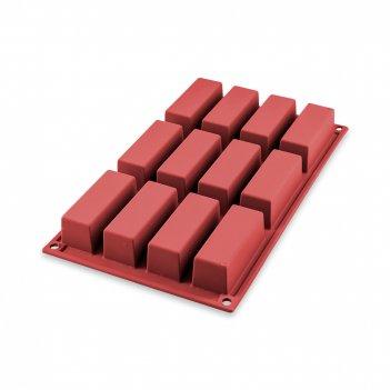 Форма для приготовления пирожных mini cake, длина: 29 см, материал: силико