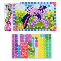 Набор для творчества my little pony мозаика для малышей микс lfsi3-04a-b-m