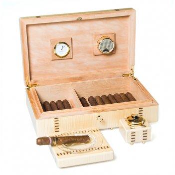 Ivory  подарочный набор для курения сигар от giglio, италия