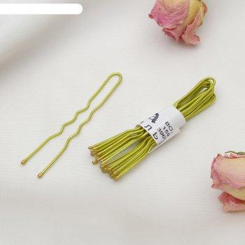 Шпильки для волос золотой цвет (набор 10 шт.)