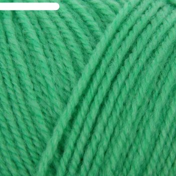 Пряжа подмосковная (0057, светлый салат), 250 м