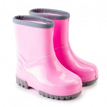Сапоги детские, цвет розовый, размер 25