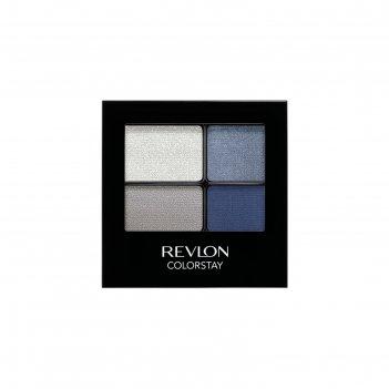 Тени для век revlon четырехцветные, цвет passionate 5