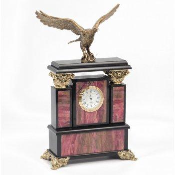 Часы орел родонит бронза