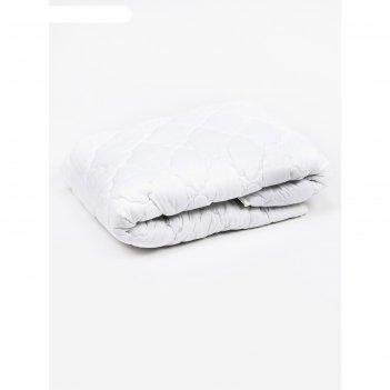 Одеяло лёгкое, размер 200 x 220 см, искусственный лебяжий пух