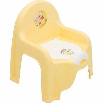 Детский горшок-стульчик винни 2596-д банановый