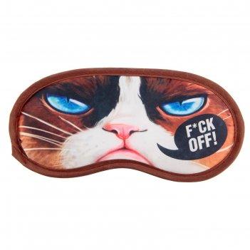 Маска для сна кот, 19,3 х 9,4 см