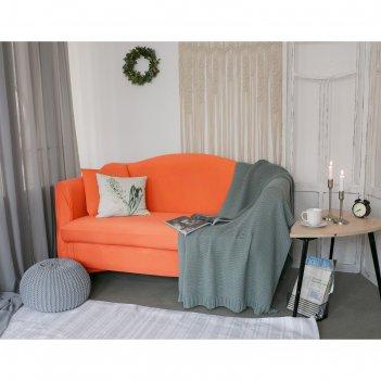 Чехол для мягкой мебели в детскую collorista,2-х местный диван,наволочка 4
