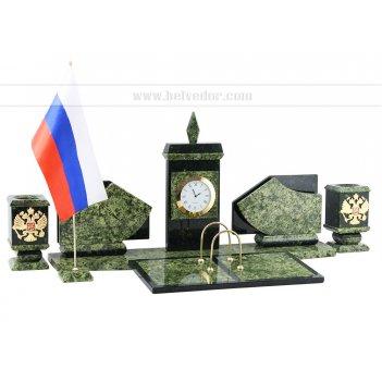 Настольный набор с флагом россии арт.3259