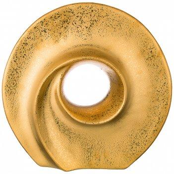 Ваза декоративная золотая коллекция 33*10 см высота=33 см (кор=8шт.)