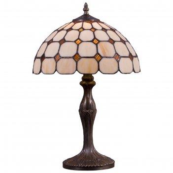Настольная лампа марсель 60вт е27 разноцветный