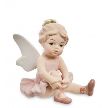 Cms-19/13 фигурка балерина-ангелочек (pavone)