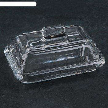 Маслёнка «комфорт», 15x10,5x8 см
