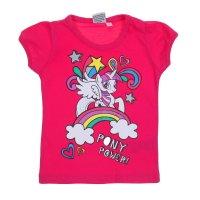 Футболка для девочки my little pony рост 92 (2 года), цвет фуксия