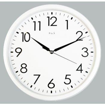 настенные часы b&s hr-pa 305 w