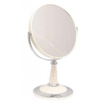 Зеркало b7 809 per/c wpearl наст. кругл. 2-стор. 5-кр.ув.18