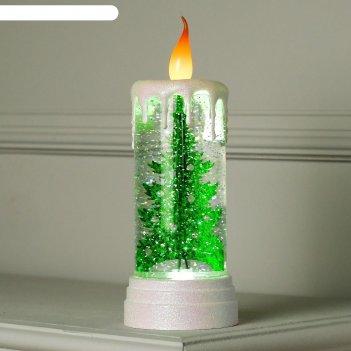 Фигура световая новогодняя свеча елочка, 27х10х10 см, 3*аа(не в компл.), т