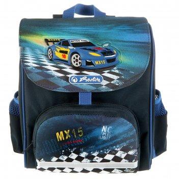 Ранец дошкольный herlitz mini softbag 24х26х14 см для мальчика «super race
