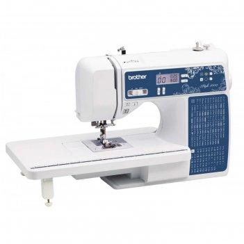 Швейная машина brother style 100q, 60 вт, 100 операций, автомат, дисплей,