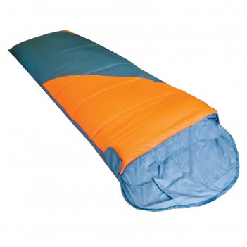 Tramp мешок спальный fluff оранжевый/серый, l