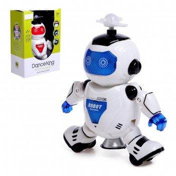 Робот «космический герой», работает от батареек, световые и звуковые эффек