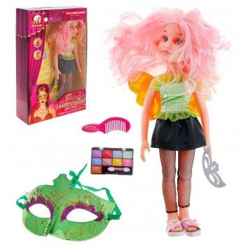 Кукла шарнирная,фея аксессуарами