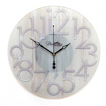 Настенные часы из стекла династия 01-082