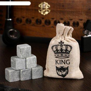 Камни для виски king, 6 шт
