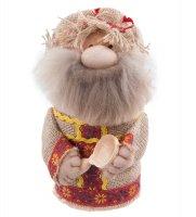 Кукла-шкатулка кузьмич с ложкой